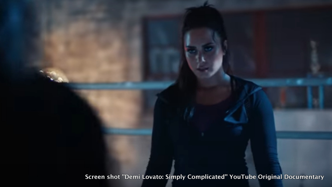 "Screen shot ""Demi Lovato: Simply Complicated"" YouTube Original Documentary"